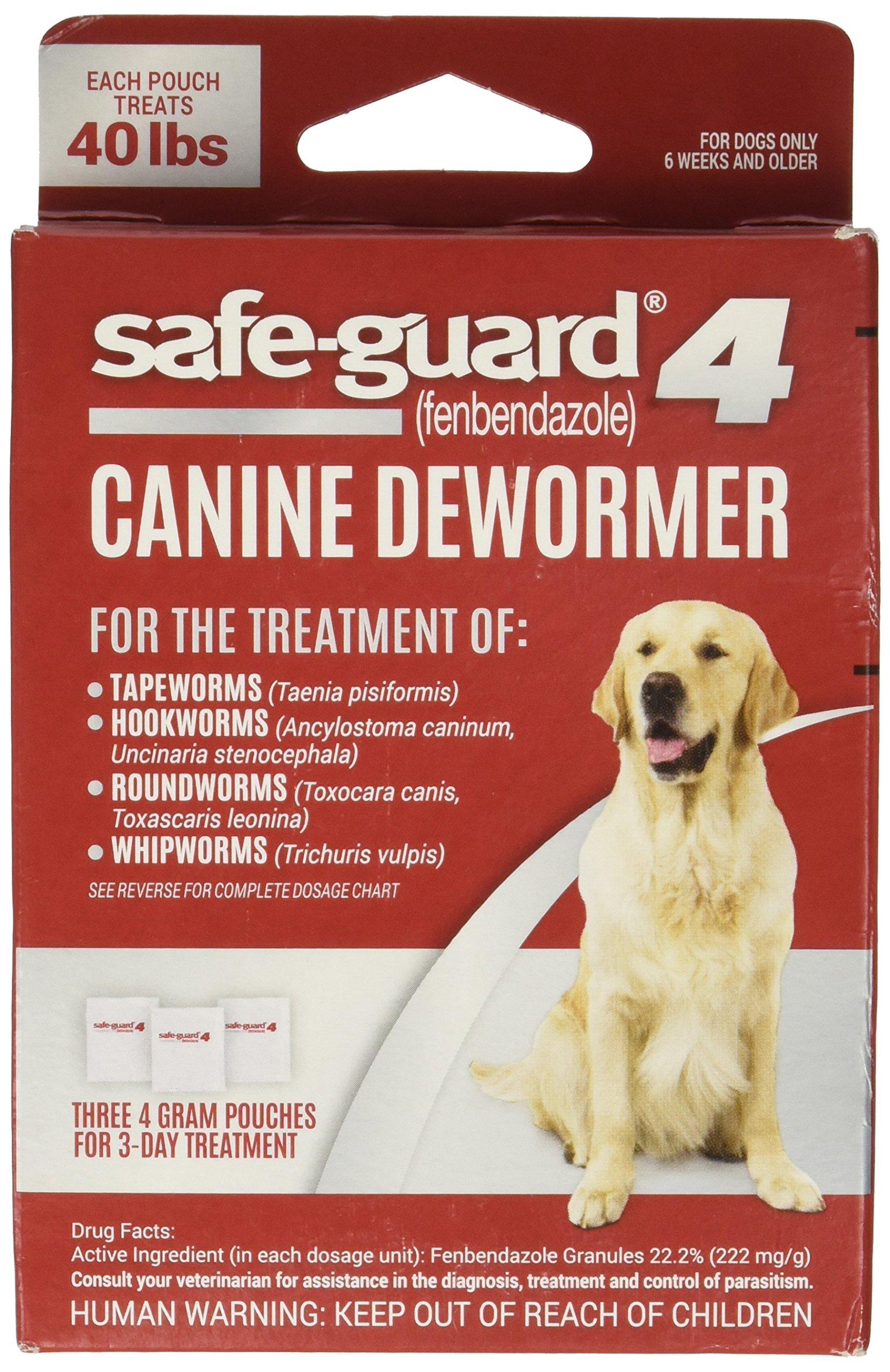 UPG - COMPANION ANIMAL Eio Wormer Safeguard 4 Lg Dog