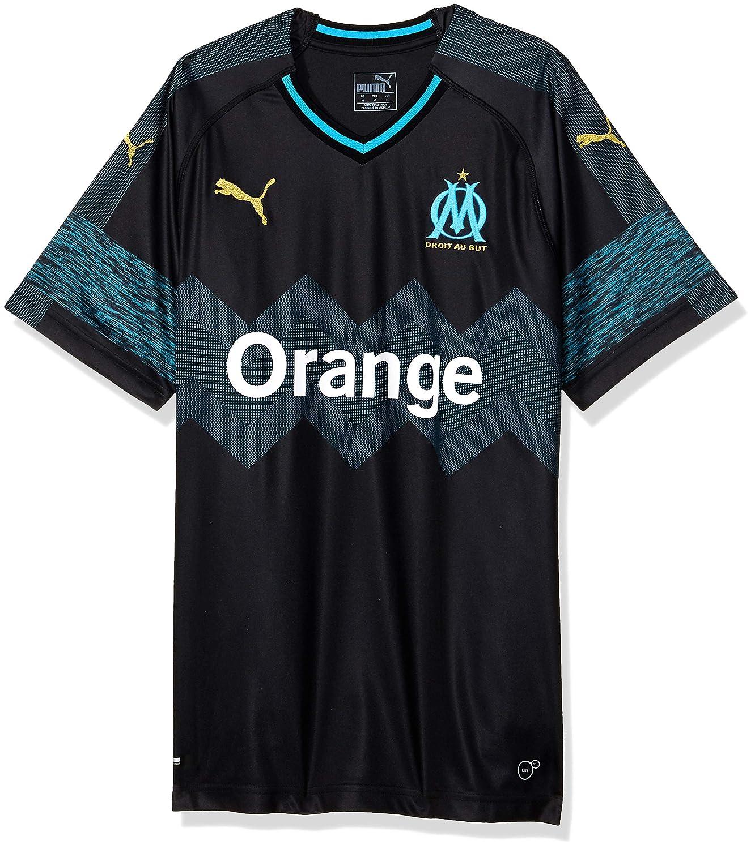 Puma Herren Olympique De Marseille Away Shirt Replica Ss Trikot