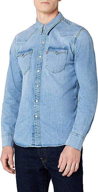 Levis Barstow Western Camisa para Hombre: Amazon.es: Ropa y accesorios