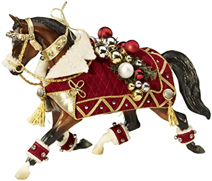 Christmas Horse Tack.Breyer Winter Belle 2011 Holiday Horse 15th In Series