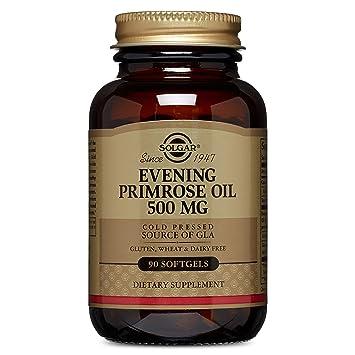 Amazon.com: Solgar – Aceite de Primrose nocturno, 500 mg de ...