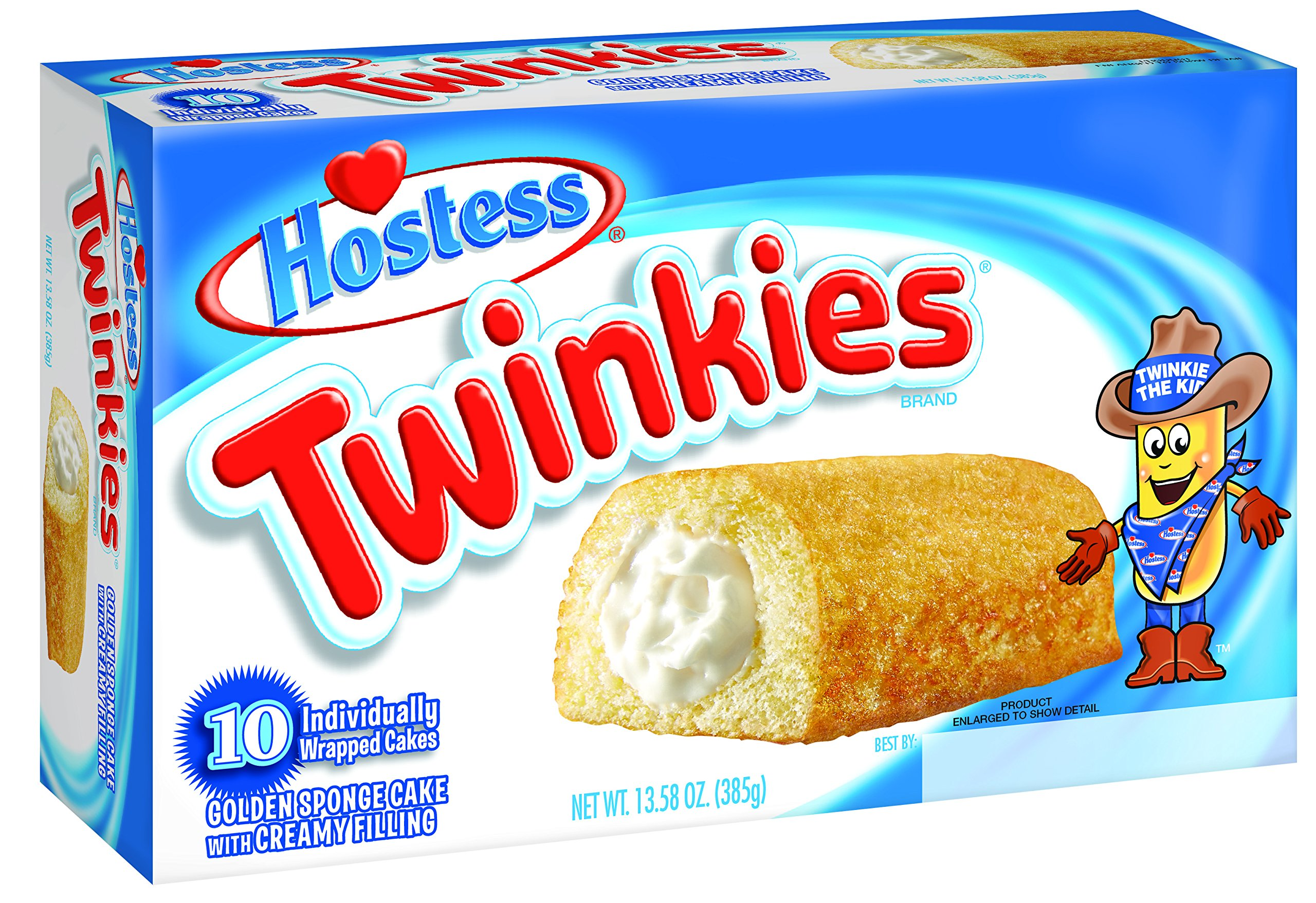 Hostess Twinkies, Original, 10 Count (Pack of 6) by Hostess