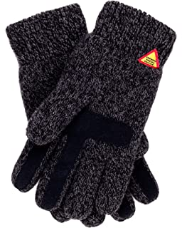 ca58647e621 Öjbro Swedish made 100% Merino Wool Soft Thick   Extremely Warm Suede Touch  Gloves (