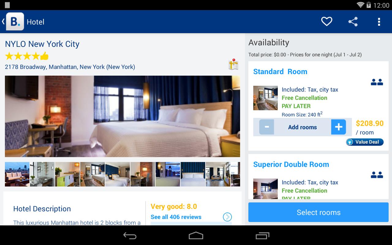 hotel booking com