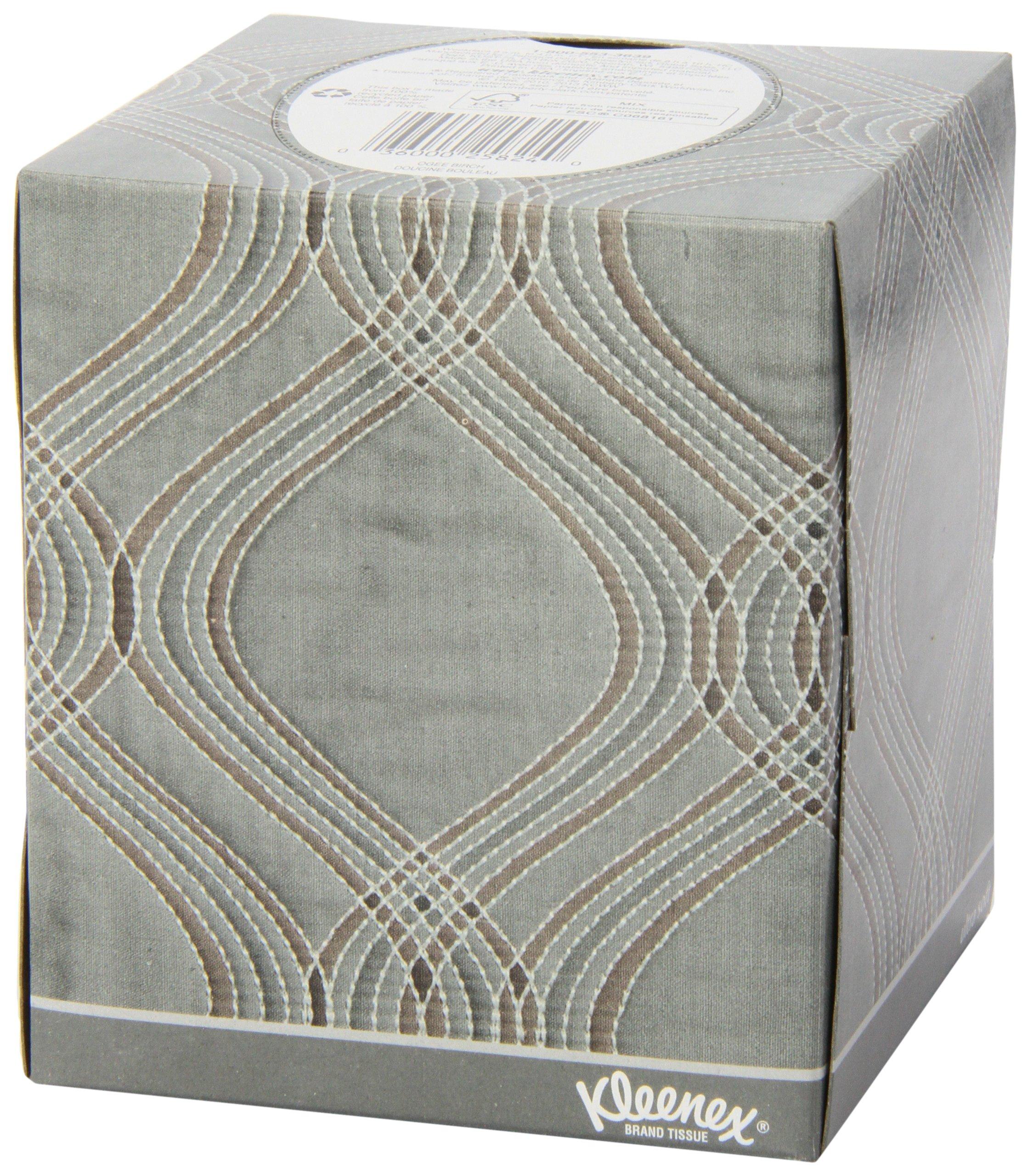 Kleenex Ultra Soft Facial Tissues, 75 Tissues per Cube Box, Pack of 27
