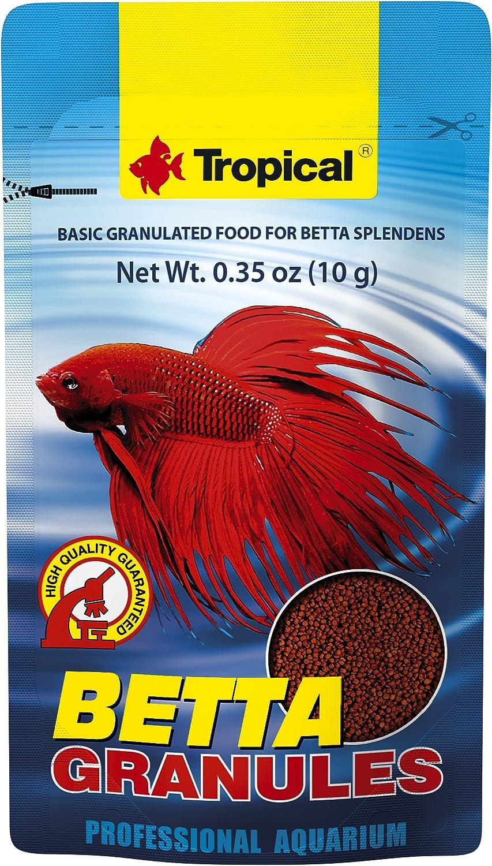 Tropical USA Betta Granules Fish Food Sachet, 10g