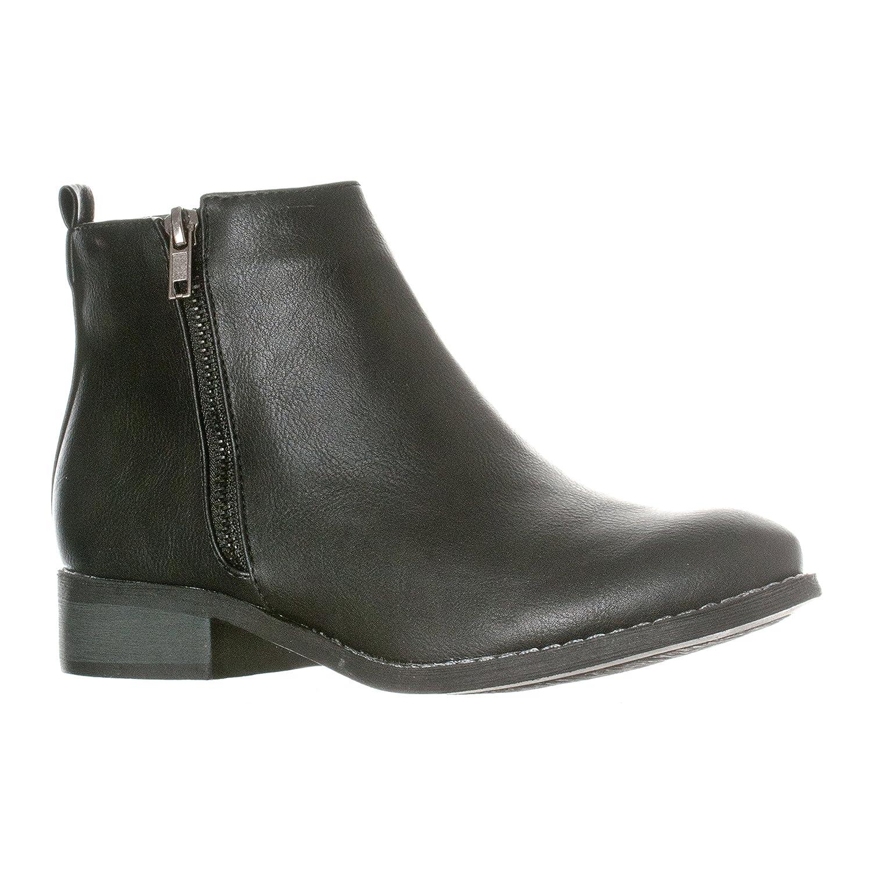 11d71456272 Riverberry Women's Avery Low-Heel Zip-Up Ankle Booties Boots