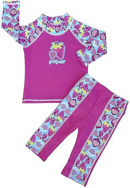 Amazon.com: GrUVywear Baby - Conjunto de traje de baño de ...