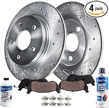 2011 2012 2013 Fit Kia Optima 2.0L OE Replacement Rotors w//Ceramic Pads F