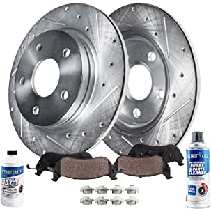 OE Replacement 2001 Mercury Mountaineer 4WD Rotors Ceramic Pads F
