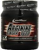 IronMaxx Arginin Simplex 1600/Ideal für Bodybuilding/Extra hohe Konzentration von L-Arginin Aminosäuren/Muskelaufbau, Kraftaufbau und Ausdauertraining/Supplement/300 XXL Kapseln (Tricaps)