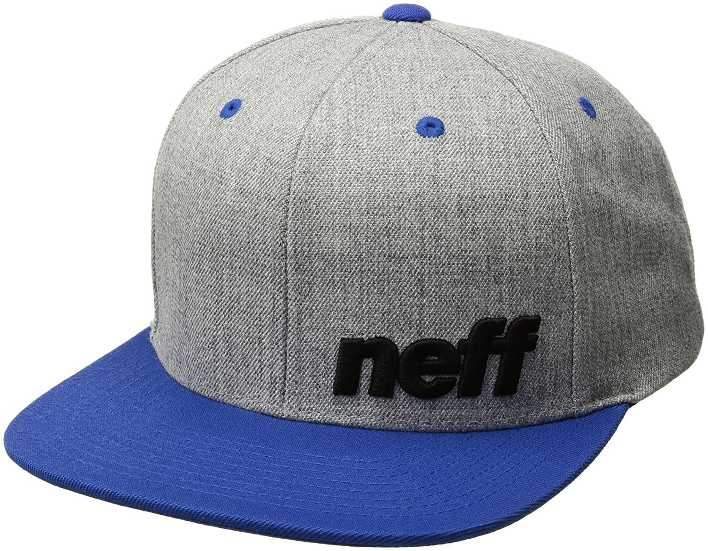 Neff Daily Cap Snapback Snap Mtze Flatbrim Basecap B01HIVQ944 One Size|グレー/ブルー グレー/ブルー One Size