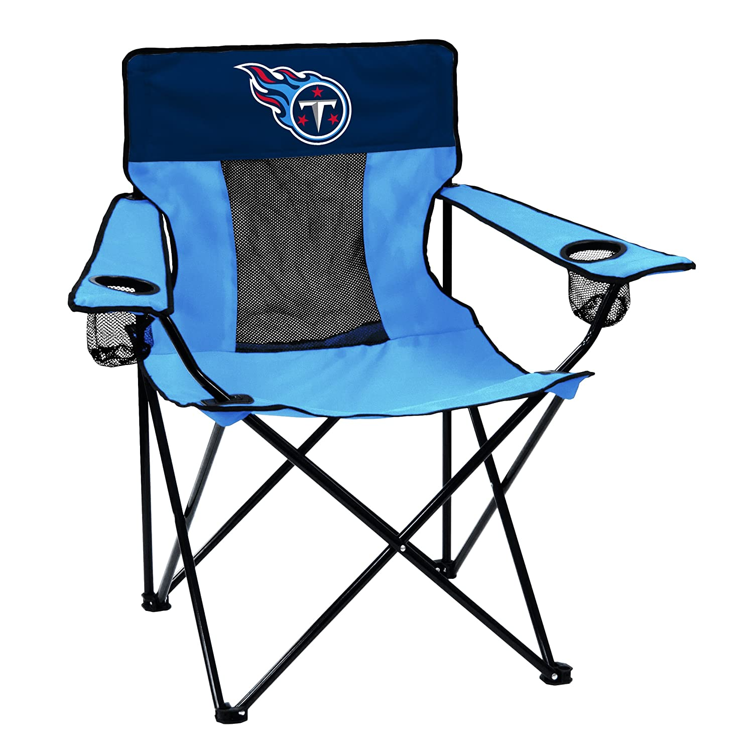 【税込?送料無料】 ロゴブランドNFL Folding Elite Chair with Chair Mesh Back and Titans Carryバッグ with Tennessee Titans Tennessee Titans B06X3RVSH4, プラセンタの美活:f7d1538e --- arianechie.dominiotemporario.com