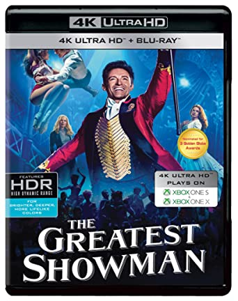 Image result for amazon greatest showman dvd