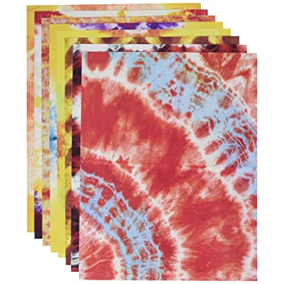 Roylco Tie Dye Paper: Home & Kitchen