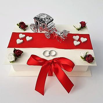 Der Kleine Dekoladen Geldgeschenk Verpackung Hochzeit Kutsche