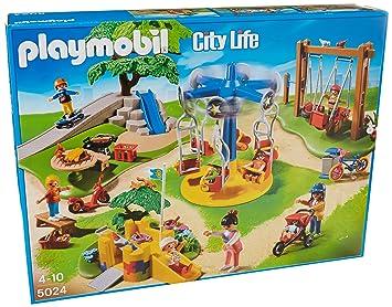 Playmobil großer Abenteuerspielplatz und viele viele Kinder etc