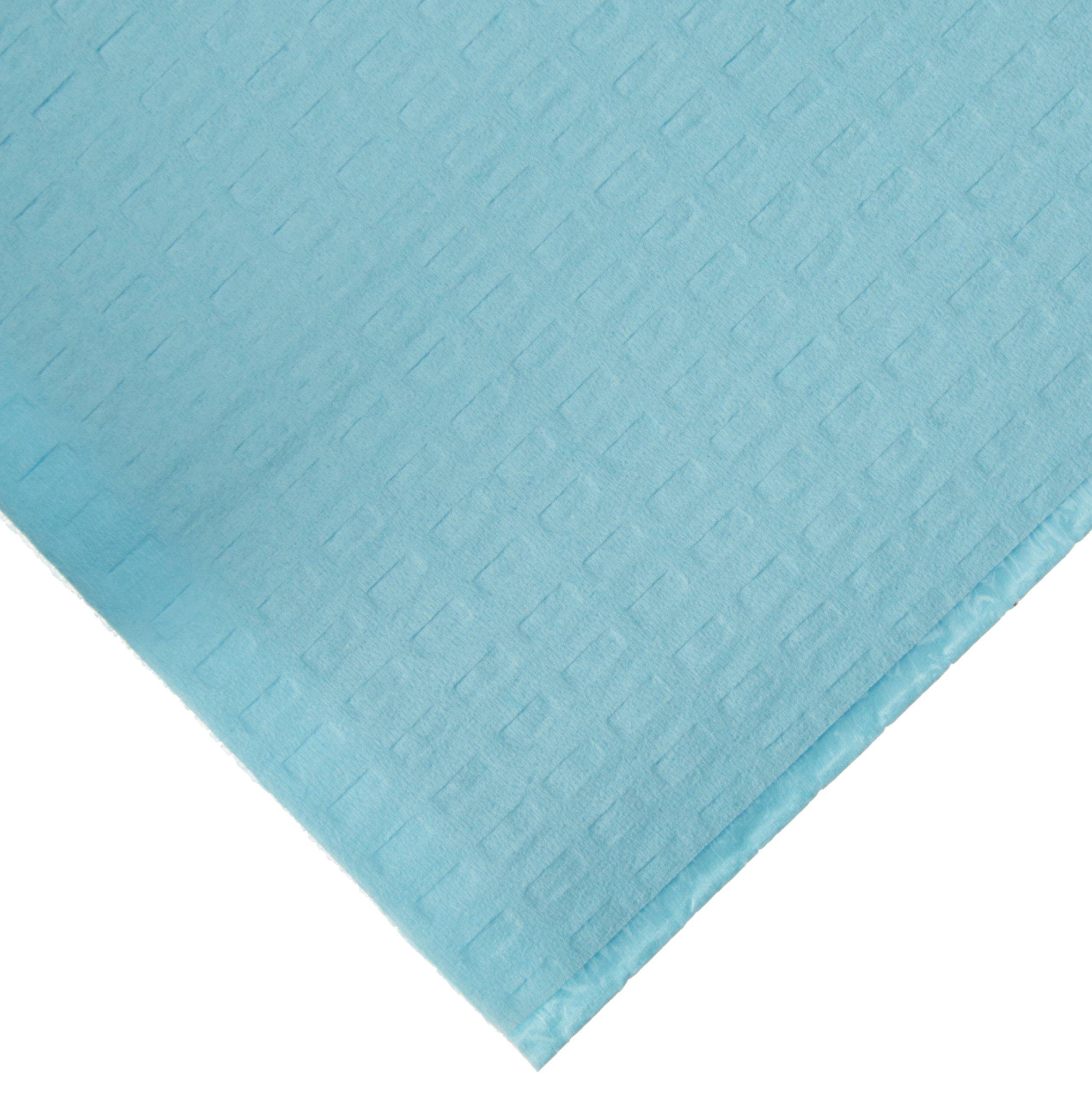 2ply Tissue/Poly Blue Dental Bib