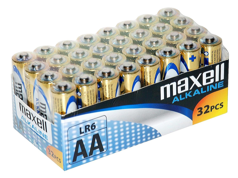 32 pilas AA Maxell por solo 10,15€