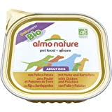 Almo Nature Bio Pate Dog with Chicken and Potatoes 300 g (Pack of 9)