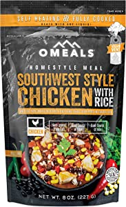 OMEALS Southwest Style Chicken with Rice - Homestyle Meals