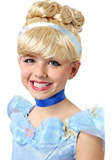 Girls Cinderella Wig Yellow