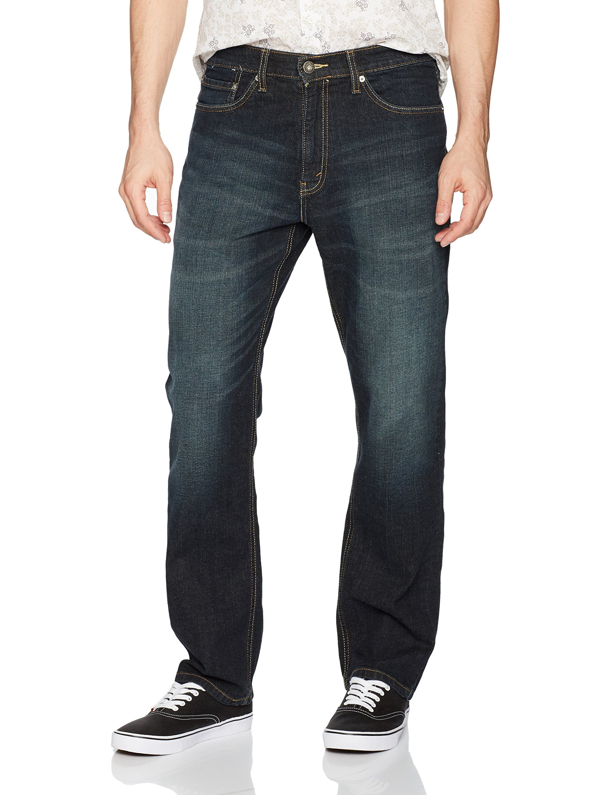 Signature by Levi Strauss & Co. Gold Label Men's Athletic Fit Jeans, Pittsburgh, 42W x 30L