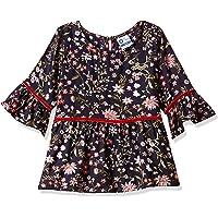 612 League Girls' Floral Regular Fit Long Sleeve Top
