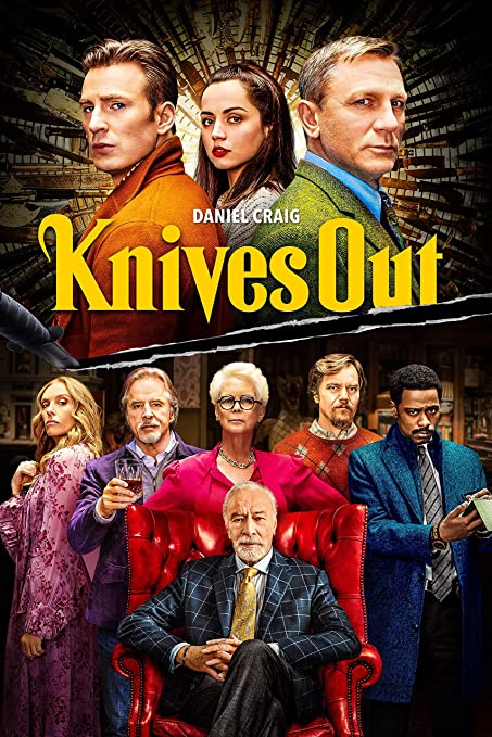 Amazon.com: Actors Mystery Film Print Compatible With Knives Out Movie  Poster Art Printing Wall Decor (M): Posters & Prints