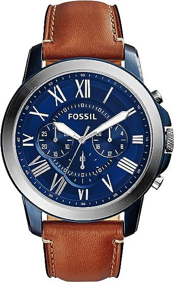 Amazon.com: Fossil - reloj cronógrafo de acero ...