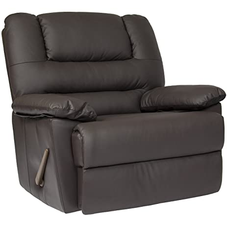 Best Choice Products Deluxe Padded PU Leather Rocking Recliner Chair  sc 1 st  Amazon.com & Amazon.com: Best Choice Products Deluxe Padded PU Leather Rocking ... islam-shia.org