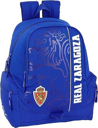 Real Zaragoza Oficial Mochila Juvenil 320x170x430mm, Multicolor ...