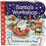 Santa's Workshop: Christmas Lift-a-Flap Board Book (Chunky Lift-a-Flap)