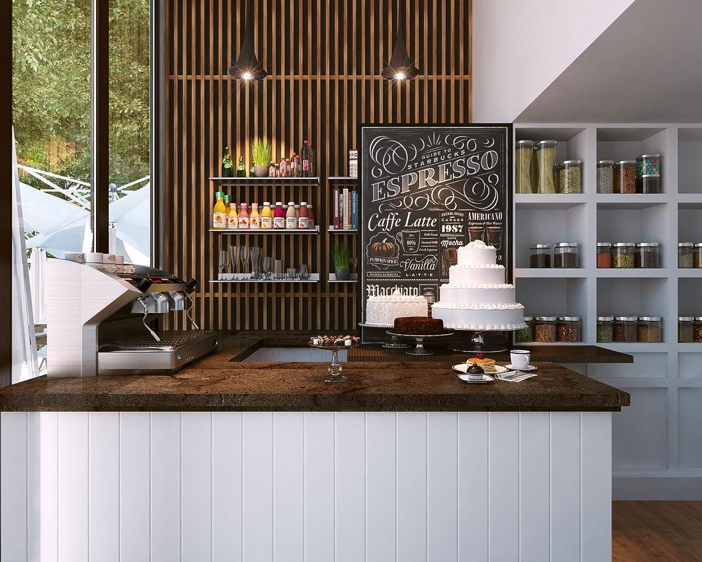 Amazon.com: Stainless Steel Restaurant Bar Cafe Kitchen Floating Wall Shelf  8x24 Inch Premium Quality: Industrial U0026 Scientific
