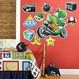 BirthdayExpress Mario Kart Wii Room Decor - Yoshi