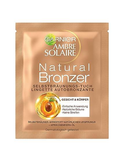 Garnier ambre solaire - Natural, toallas, 15 pack (15 x 1 pc)
