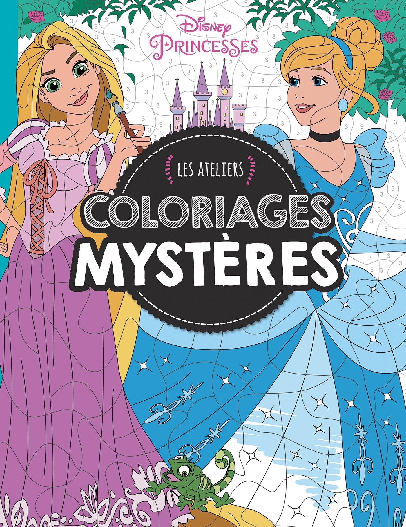 Disney princesses : les ateliers coloriages mystères