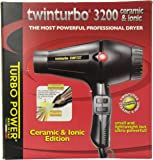 Twin Turbo 3200 Ceramic and Ionic Professional Hair Dryer, 1900 Watt