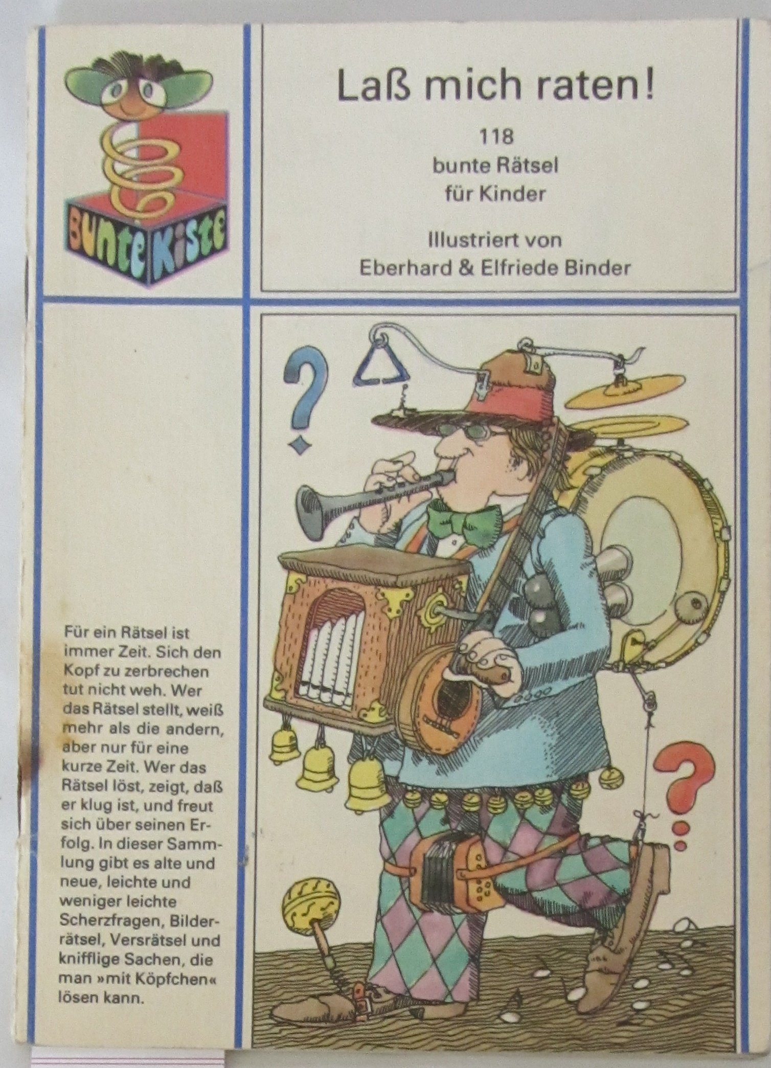 Lass Mich Raten 118 Bunte Rätsel Für Kinder Amazon De Eberhard
