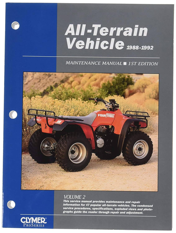 Clymer ATV21 Repair Manual