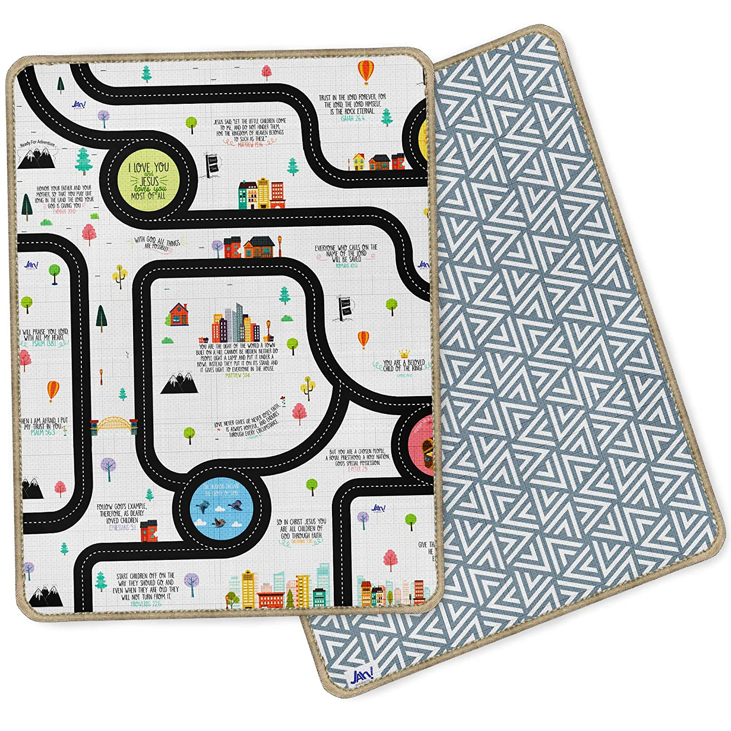 Amazoncom Christian Baby Play Mat 79 X 71 X 08 Inches