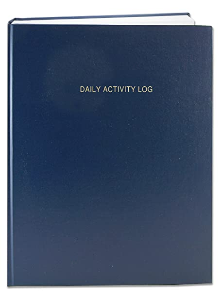 amazon com bookfactory daily activity log book 365 day log book