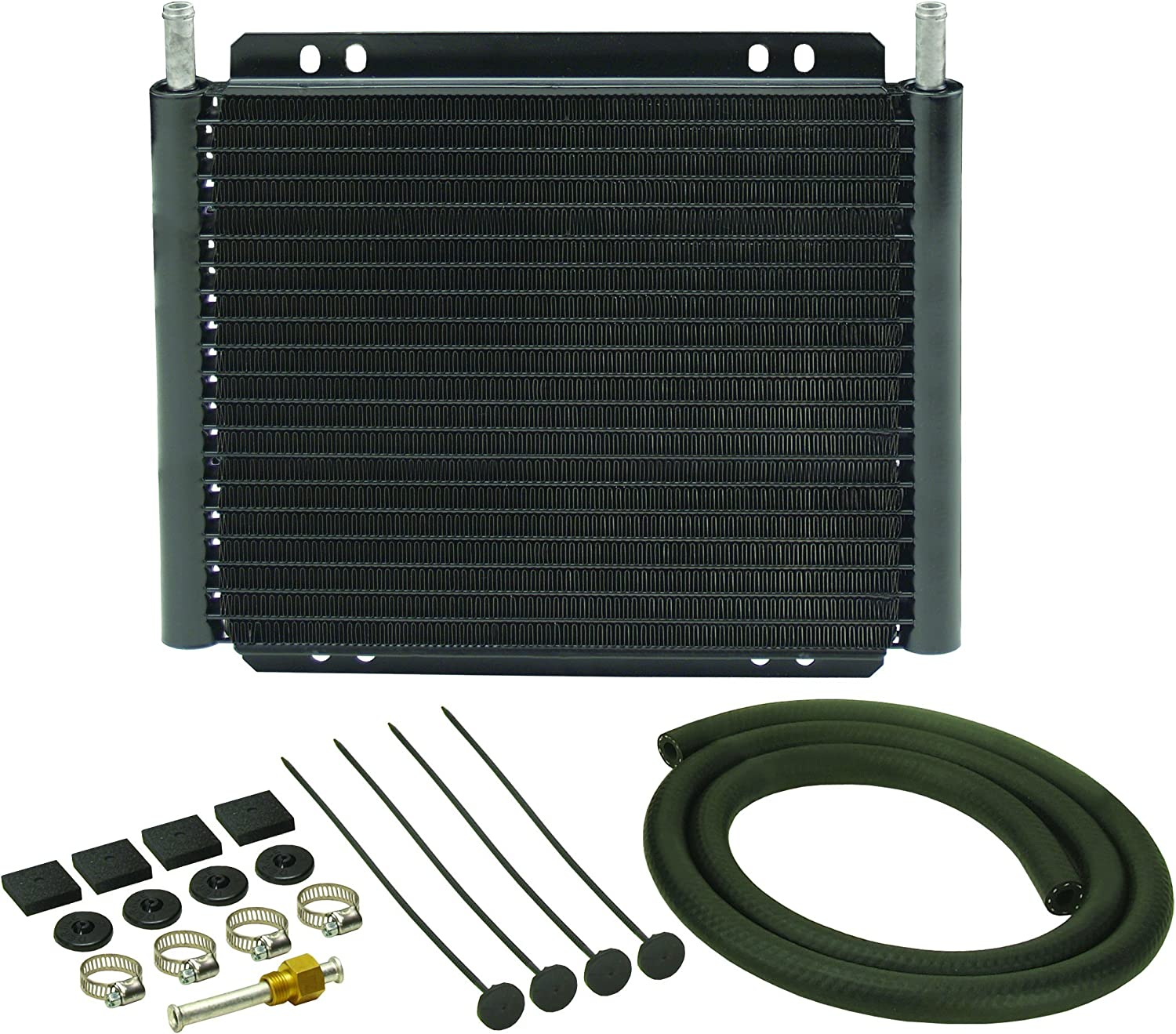 Derale 13503 Series 8000 Plate and Fin Transmission Oil Cooler