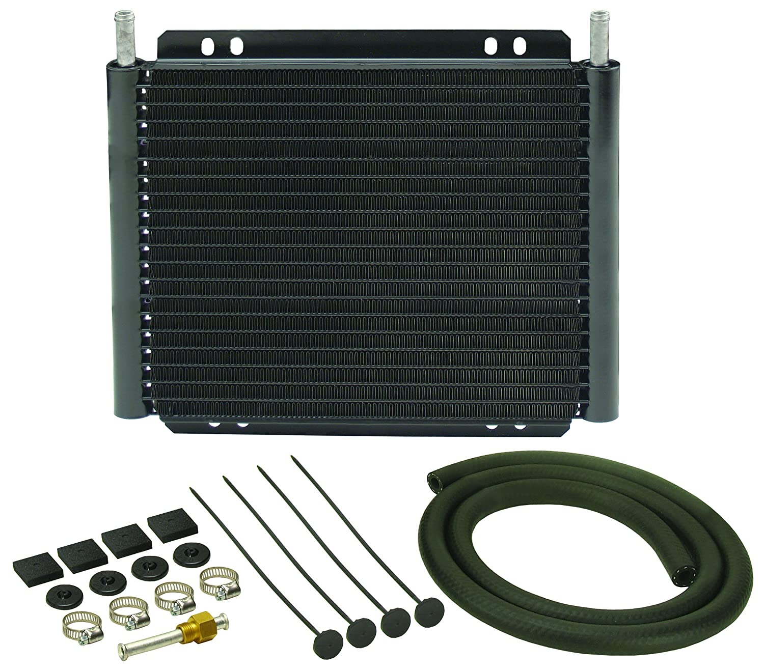 Amazon com derale 13503 series 8000 plate and fin transmission oil cooler automotive