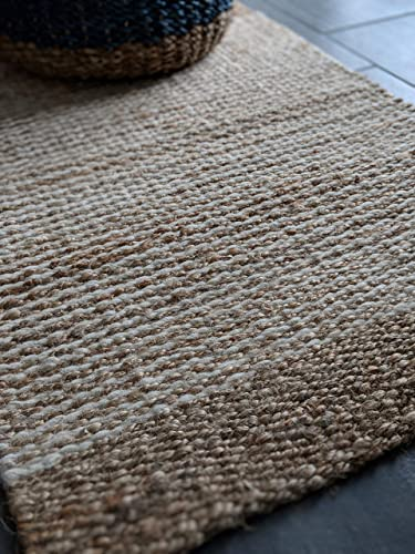 Fab Habitat – Guadalupe – 2 x3 Wool Jute Rug