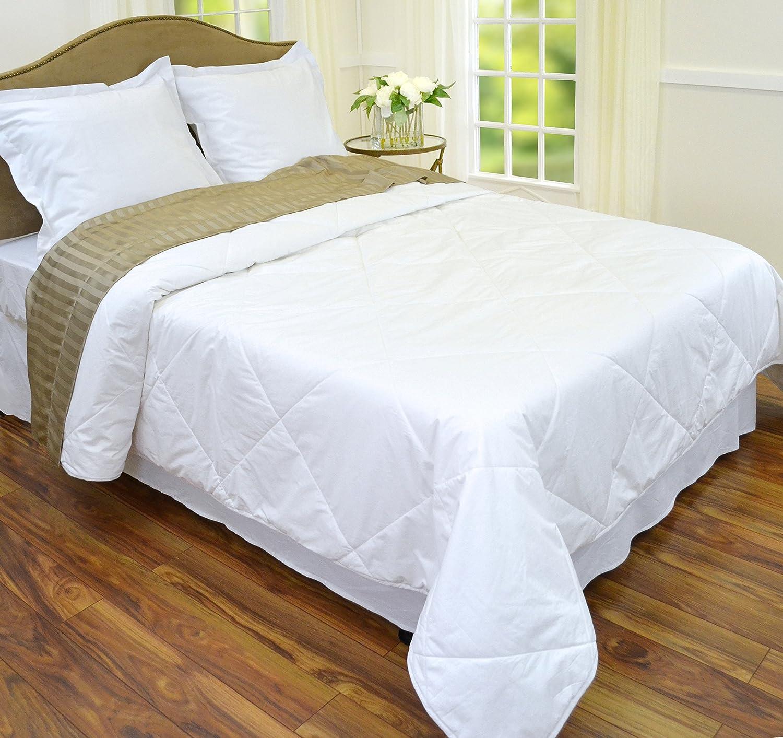 amazoncom empress home washable silk filled comforter  queen  - amazoncom empress home washable silk filled comforter  queen  whitehome  kitchen