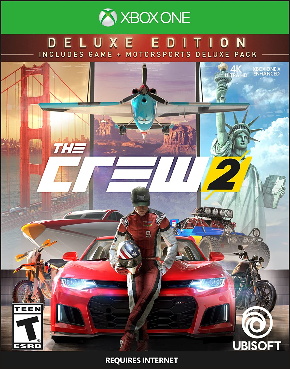 The Crew 2 - Deluxe Edition for Xbox One: Amazon co uk: PC