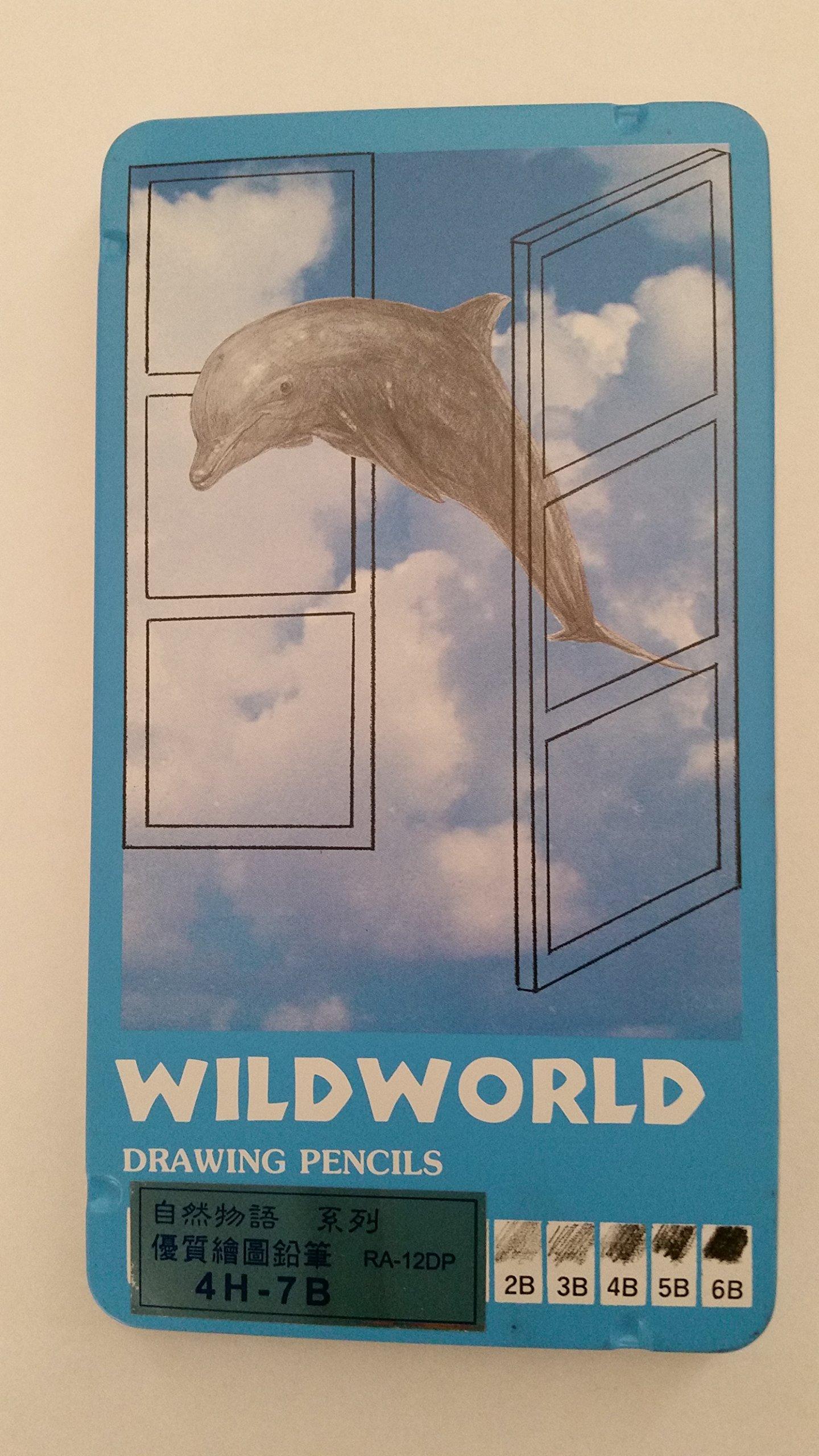 Wildworld Drawing Pencil 4H-7B