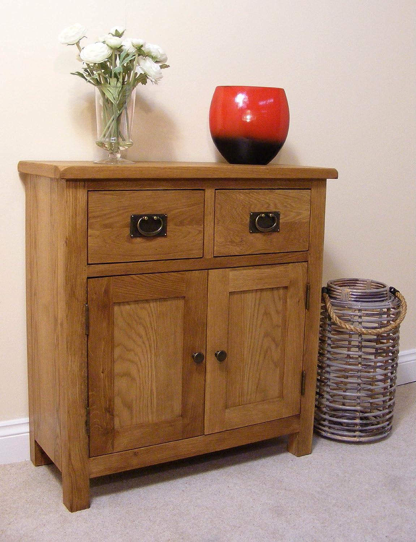 Roseland Furniture Lanner Oak Mini Sideboard RF974