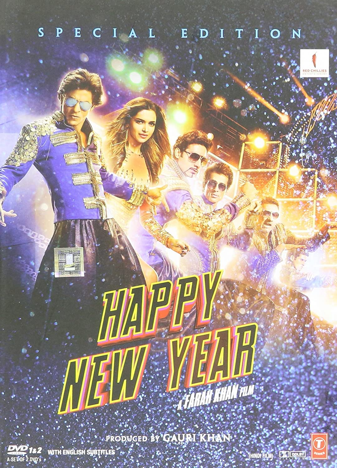 Amazon.com: HAPPY NEW YEAR DVD [BOLLYWOOD] - 2 DISC SPECIAL ...
